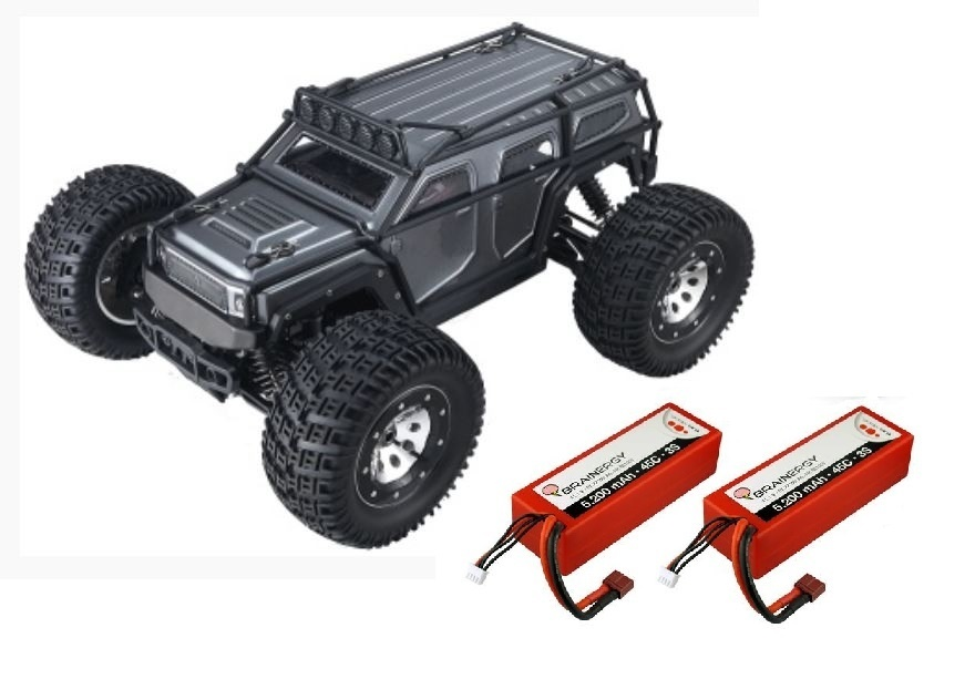 Thunder Tiger K-Rock MT4 G5 4WD Monstertruck RTR 1:8