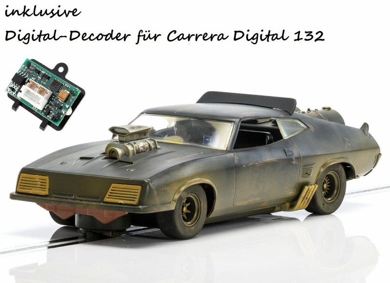 Scalextric Ford XB Falcon Matte Black Mad Max --SPARSET 2--