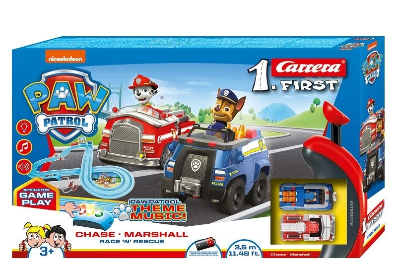 Carrera FIRST PAW PATROL - Race N Rescue