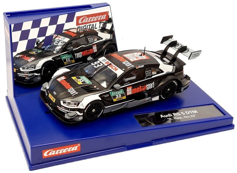 Carrera Digital 132 Audi RS 5 DTM R.Rast, No.33