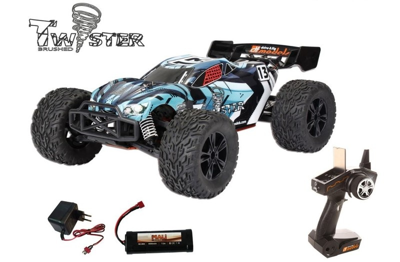 DF-Models Twister brushed 4WDTruggy 2.4GHz - RTR 1:10XL -