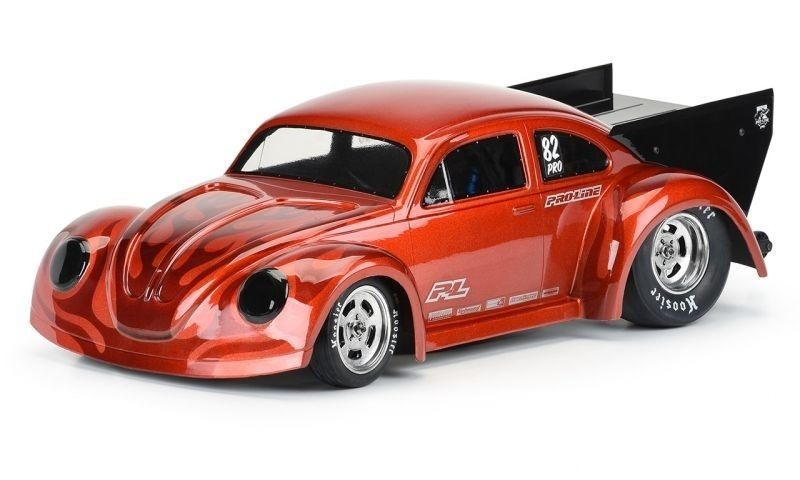 Pro Line Volkswagen Drag Bug Karo klar 1:10 für