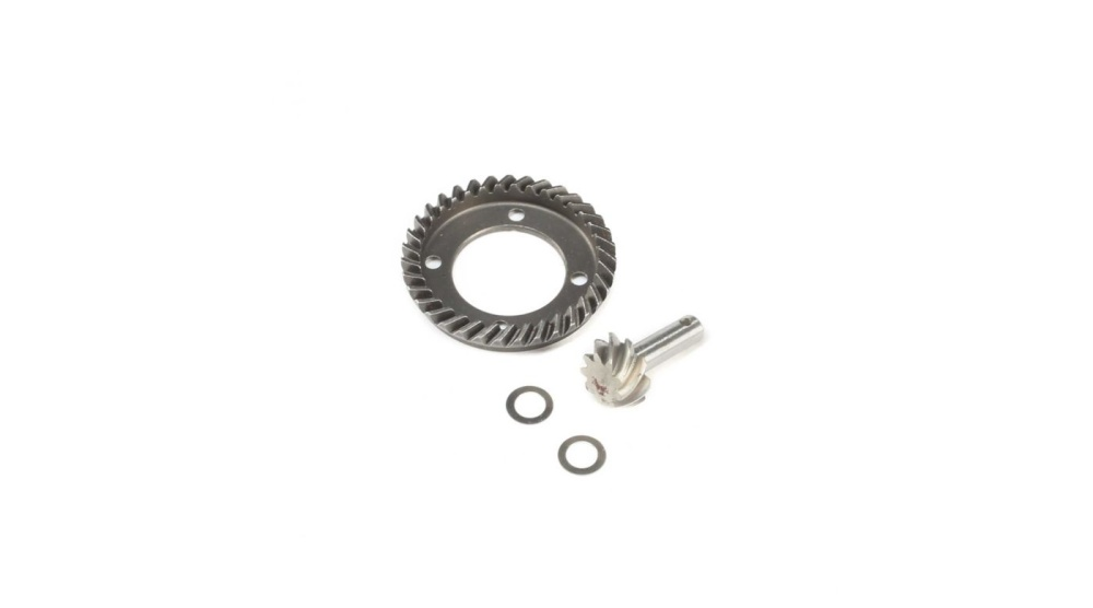 Losi Front Ring & Pinion Gear Set:TENACITY (LOS232027)