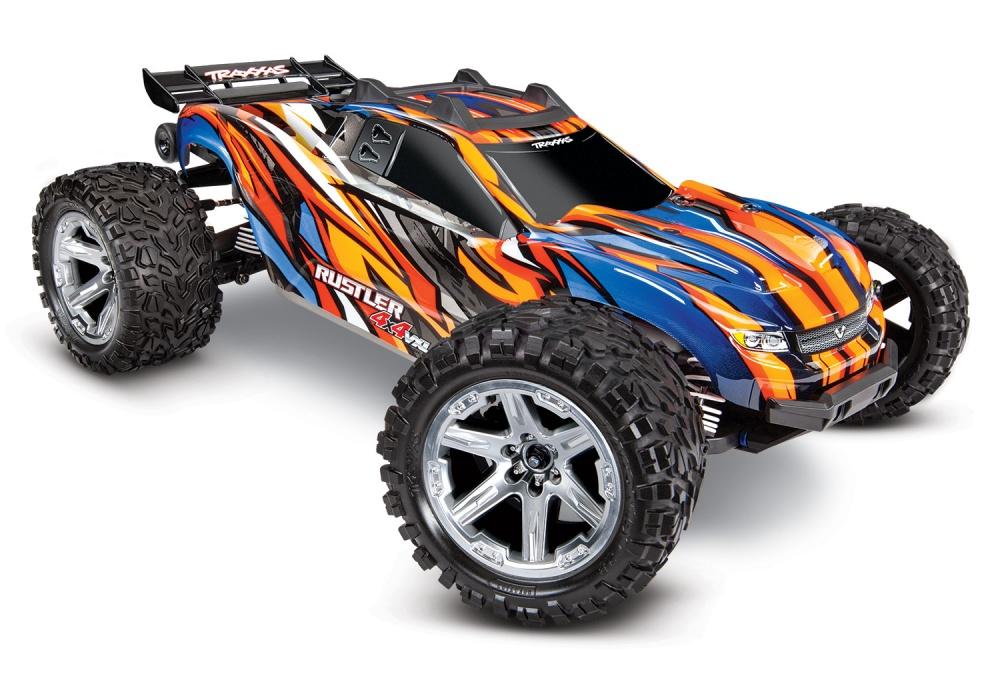 Traxxas Rustler 4x4 Stadium Truck Brushless VXL TQi2.4GHz