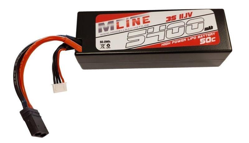 MLine High Power LiPo Akku 50C 3S 11.1V 5400mAh
