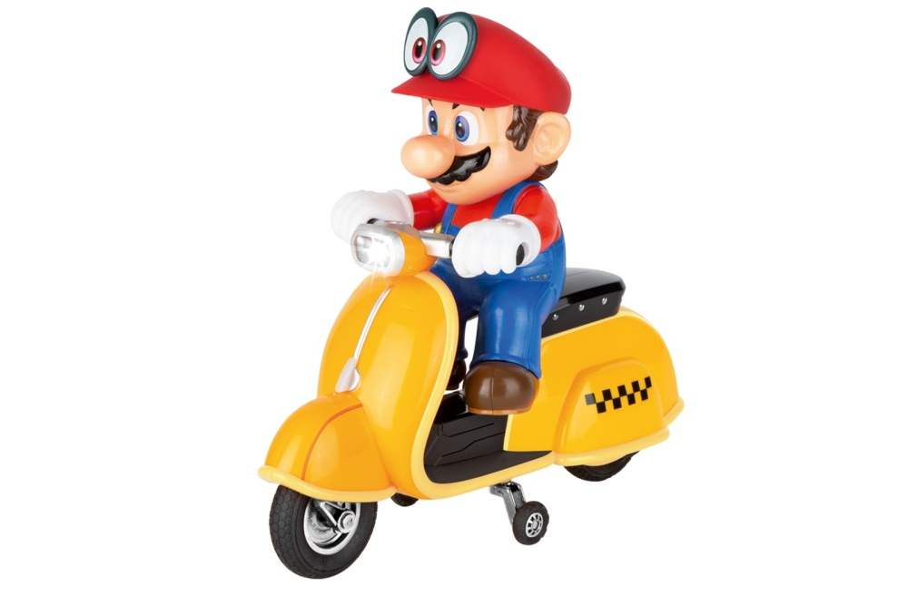 Carrera RC 2,4GHz Super Mario Odyssey (TM) Scooter, Mario