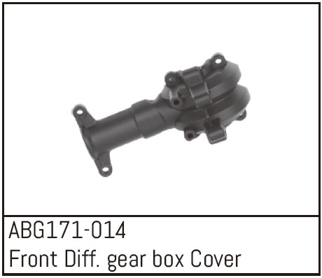 Absima Front Differential Gear Box Cover