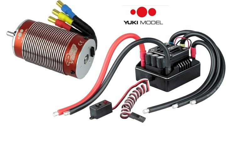 Yuki Model YAKUZA BOSS M6-Combo 160A 2200KV sensored &