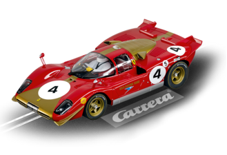 Carrera Digital 124 Ferrari 512S Berlinetta No.4