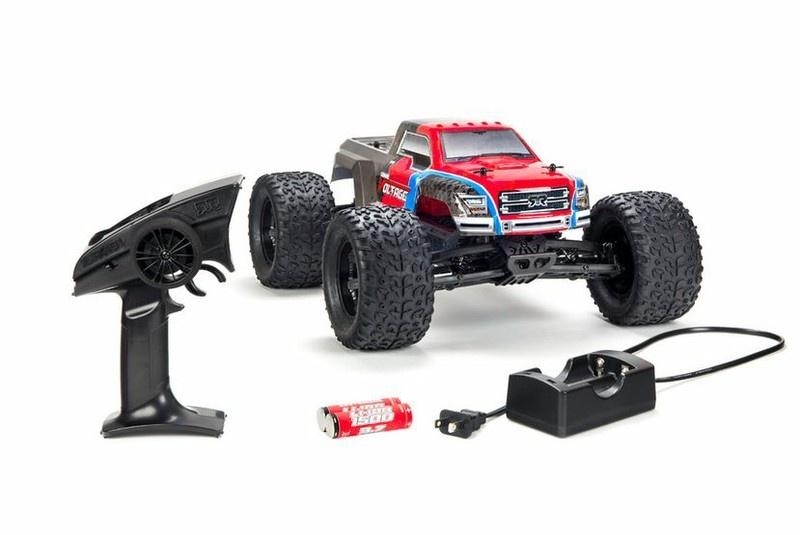 Arrma RC Granite Voltage MEGA SRS 2WD Monstertruck 2.4GHz