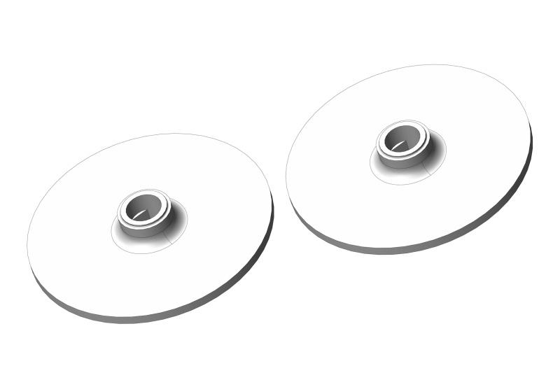 Team Corally Slipper Clutch Plate - Aluminum - 2 pcs