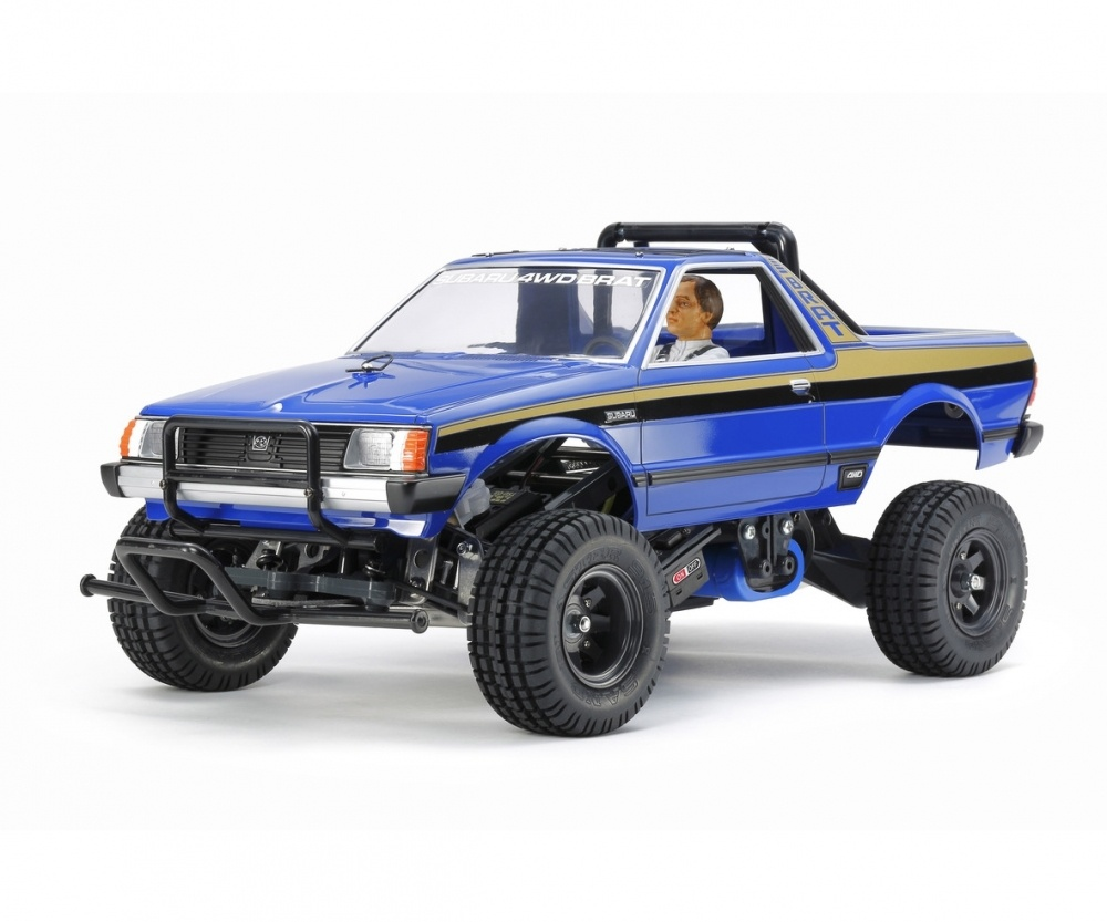 Tamiya RC 1:10 RC Subaru Brat Blue Version