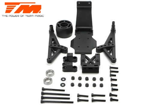 Team Magic Tuningteil - E5 - Complete Wheelie Bar Set
