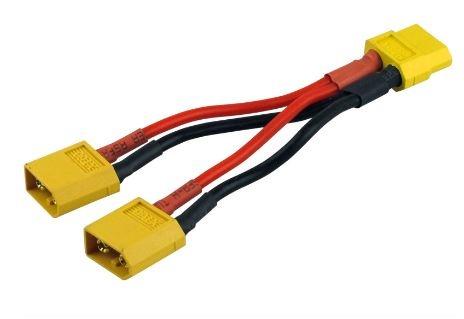 Paralleles Kabel Goldkontakt XT60