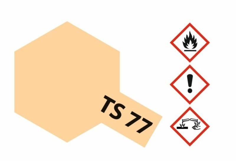 Tamiya Acryl-Sprühfarbe TS-77 Fleischfarben matt 100ml