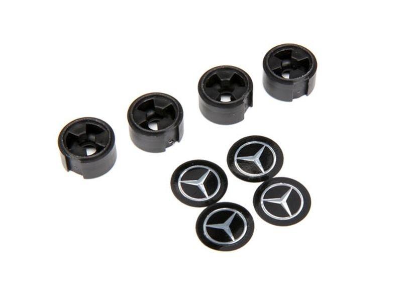 Traxxas MERCEDES-BENZ G500 Zentral-Radkappe schwarz