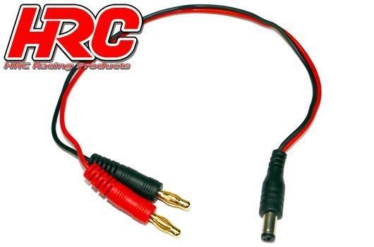HRC Racing Ladekabel - Gold - Banana Plug zu Futaba Sender