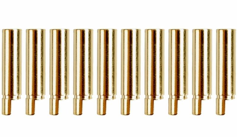 Goldkontakt 4,0mm, 10 Buchsen