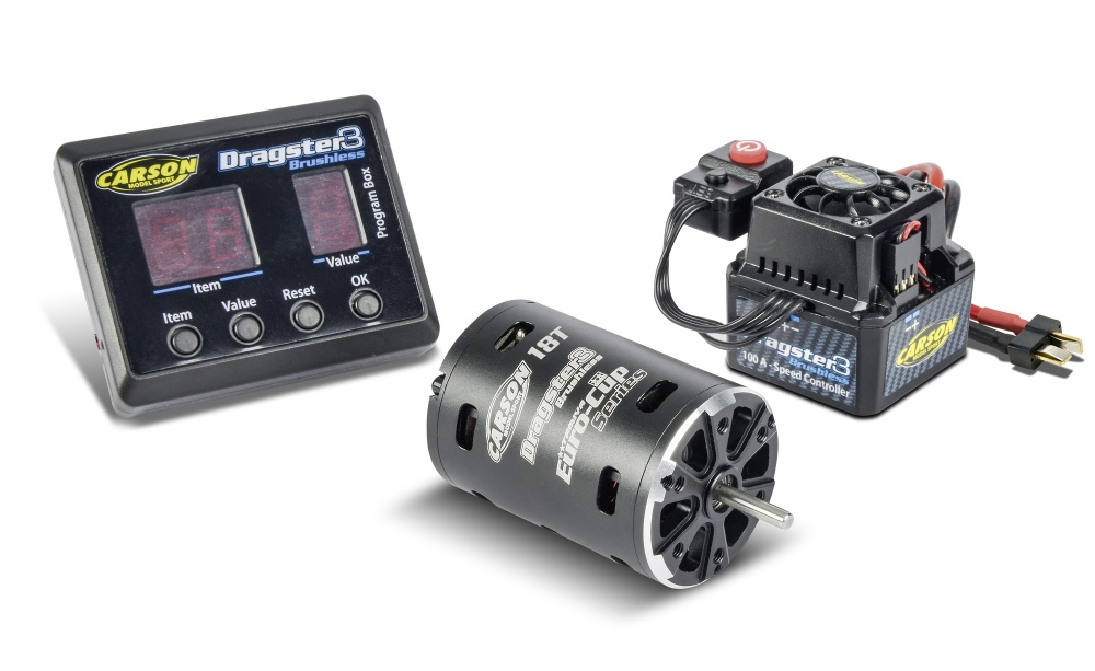 Carson Brushless-Set Dragster-3 18T