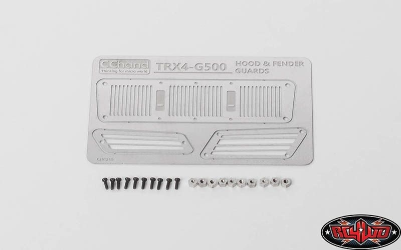 RC4WD Metal Hood and Fender Vents for TRAXXAS TRX-4