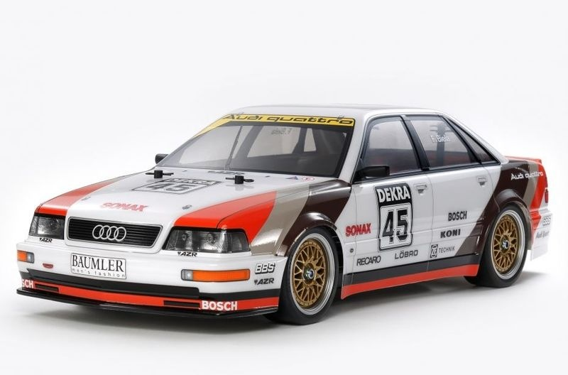Tamiya 1:10 RC Audi V8 Tourenwagen (TT-02) Bausatz 1:10