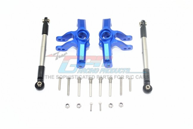 GPM aluminium front knuckle arm + stainless steel adjustable
