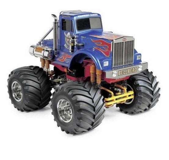 Tamiya RC Bullhead 4WD Monsterstruck (2012) Bausatz 1:10
