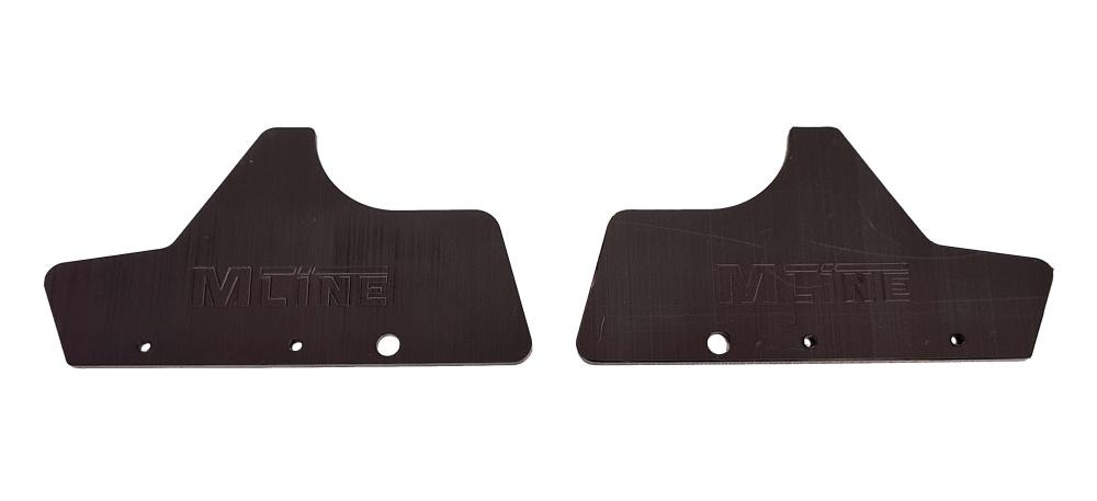 MLine HD Mudguards  stabile Ausführung in 3,2mm Stärke für