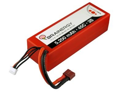 Yuki Model Brainergy LiPo 3s1p 11,1V 5200mAh 45C