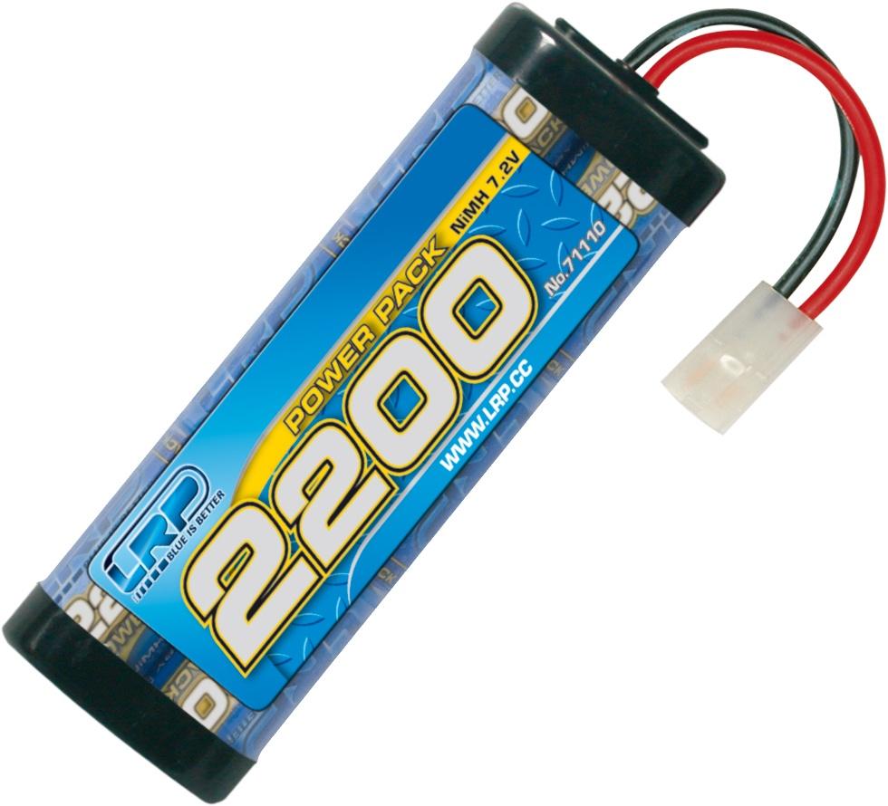LRP Power Pack 2200 7.2V 6-Zellen NiMh Stickpack
