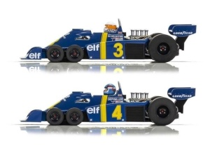 Scalextric 1:32 Tyrrell P34 Swed. GP76 Twin Pack HD