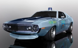 Scalextric 1:32 AMC Javelin Alabama State Troop. HD