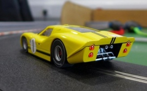 Scalextric Ford GT40 MK4 1967 Sebring Win. HD