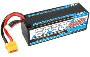 Team Corally Akku X-Celerated 100C LiPo - 6750 mAh - 14.8V -