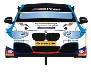 Scalextric BMW Series 1 NGTC - BTCC 2017 Colin Turkington