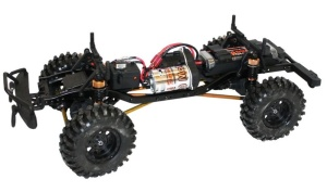 DF-Models DF-4S Scale-Crawler mit Beleuchtung 4WD 2.4GHz