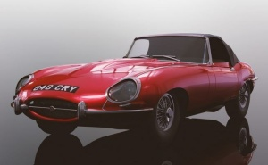Scalextric Jaguar E-Type - Red 848CRY HD