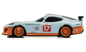 Scalextric GT Lightning-Gulf #17 Team GT SRR